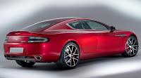 Aston Martin Rapide S (2013) Rear Side