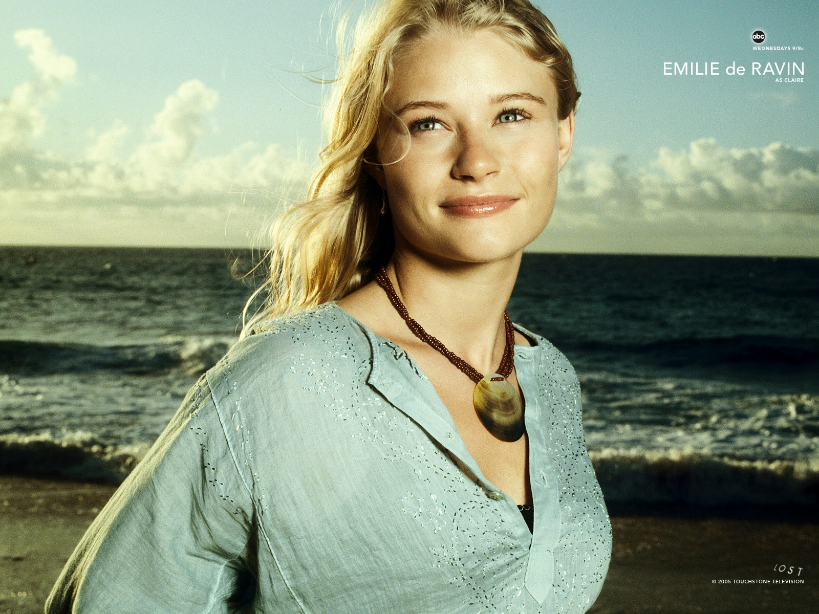 lost Television serial Awesome Look Emilie De ravin Wallpaper