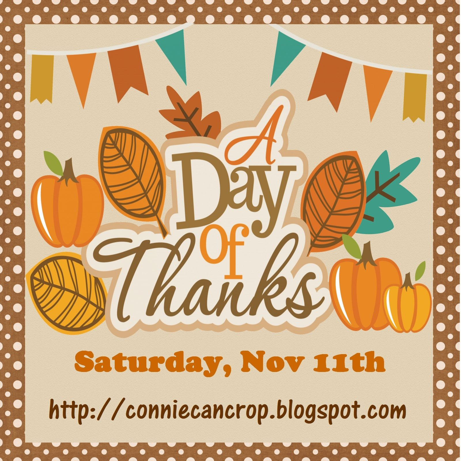 A Day of Thanks Blog Hop
