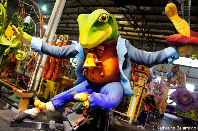 Frog Prop Mardi Gras World New Orleans