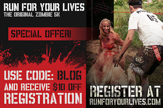 Run For Your Lives Registration Coupon