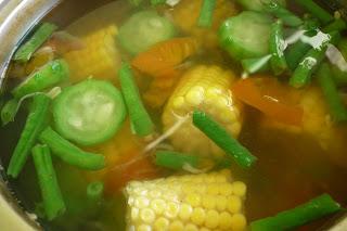 Resep membuat Sayur Asem Tomat Hijau