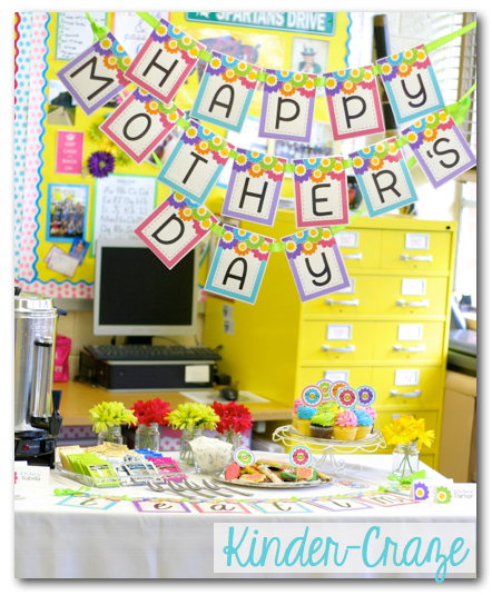 An ADORABLE classroom Mother's Day Tea Party!