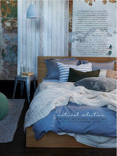 This must have winter bedroom item can be purchased from Bedhead Design website or Judy Porter Interiors, it looks stunning in the bedroom and like an upholstered headboard it adds a second layer of comfort to the room.