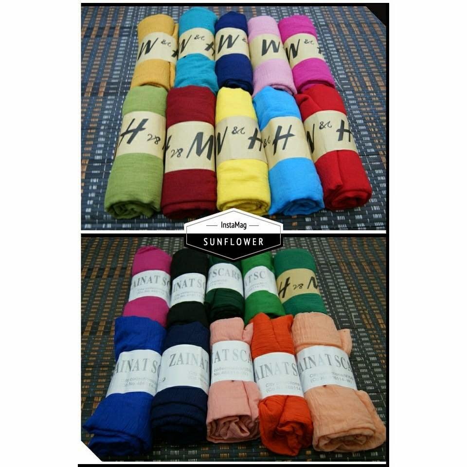 wide shawl plain rm10