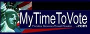 My Time to Vote - U.S. Elections - Promoting Democracy thru Education