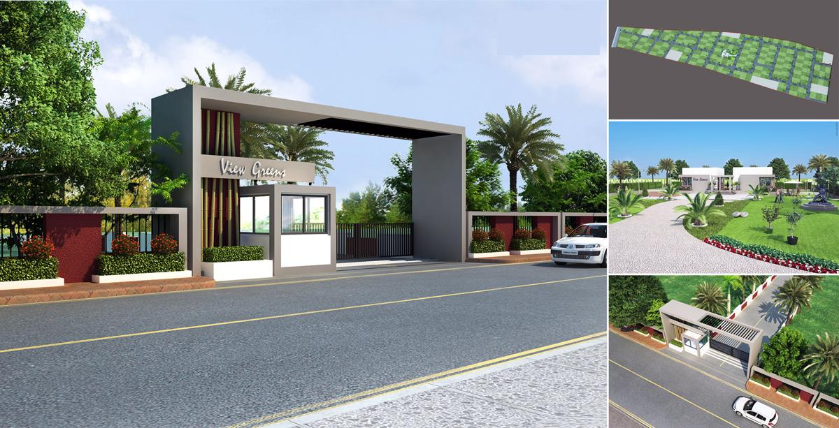 3d View Of Home Front Elevation : D front elevation wow beautiful house views v ray