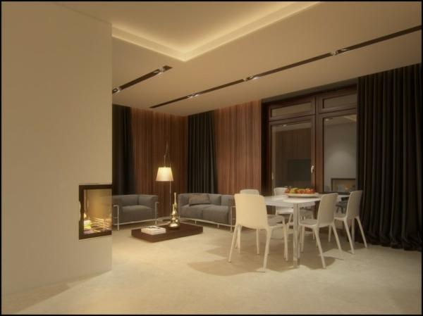 Hermosas fotos de salas comedor ideas para decorar for Comedor 2 colores