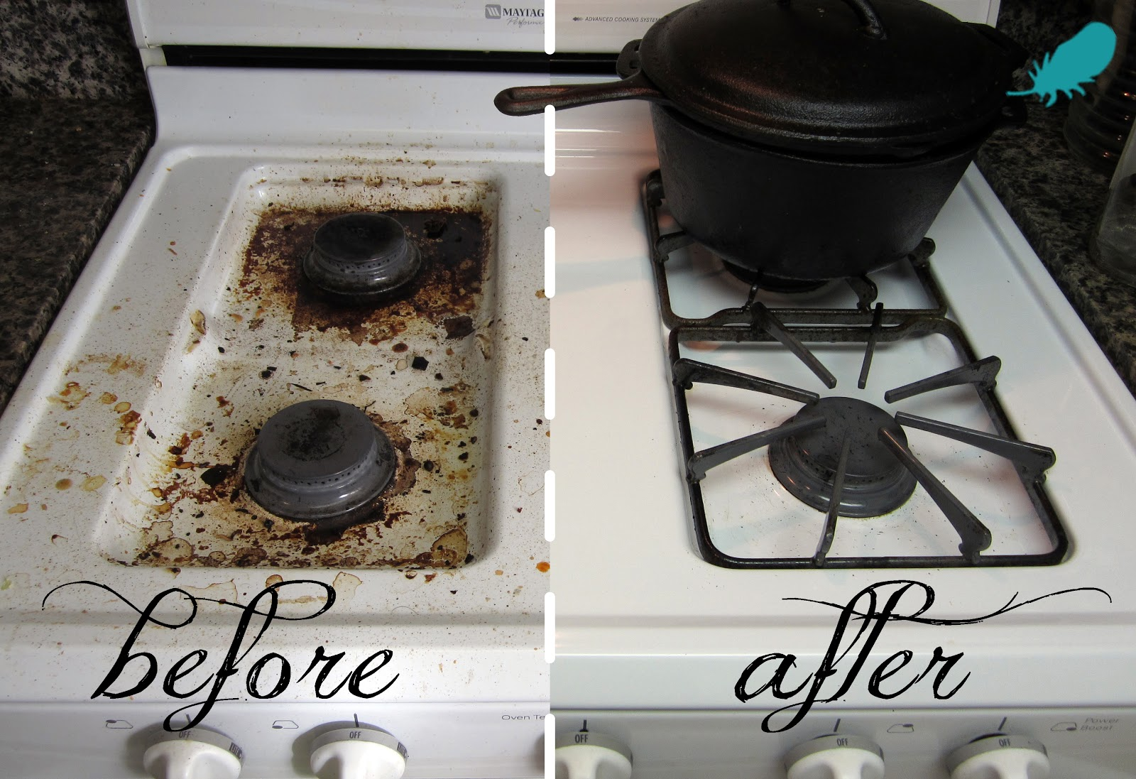 Stoves cleaning stove top How to clean top of oven
