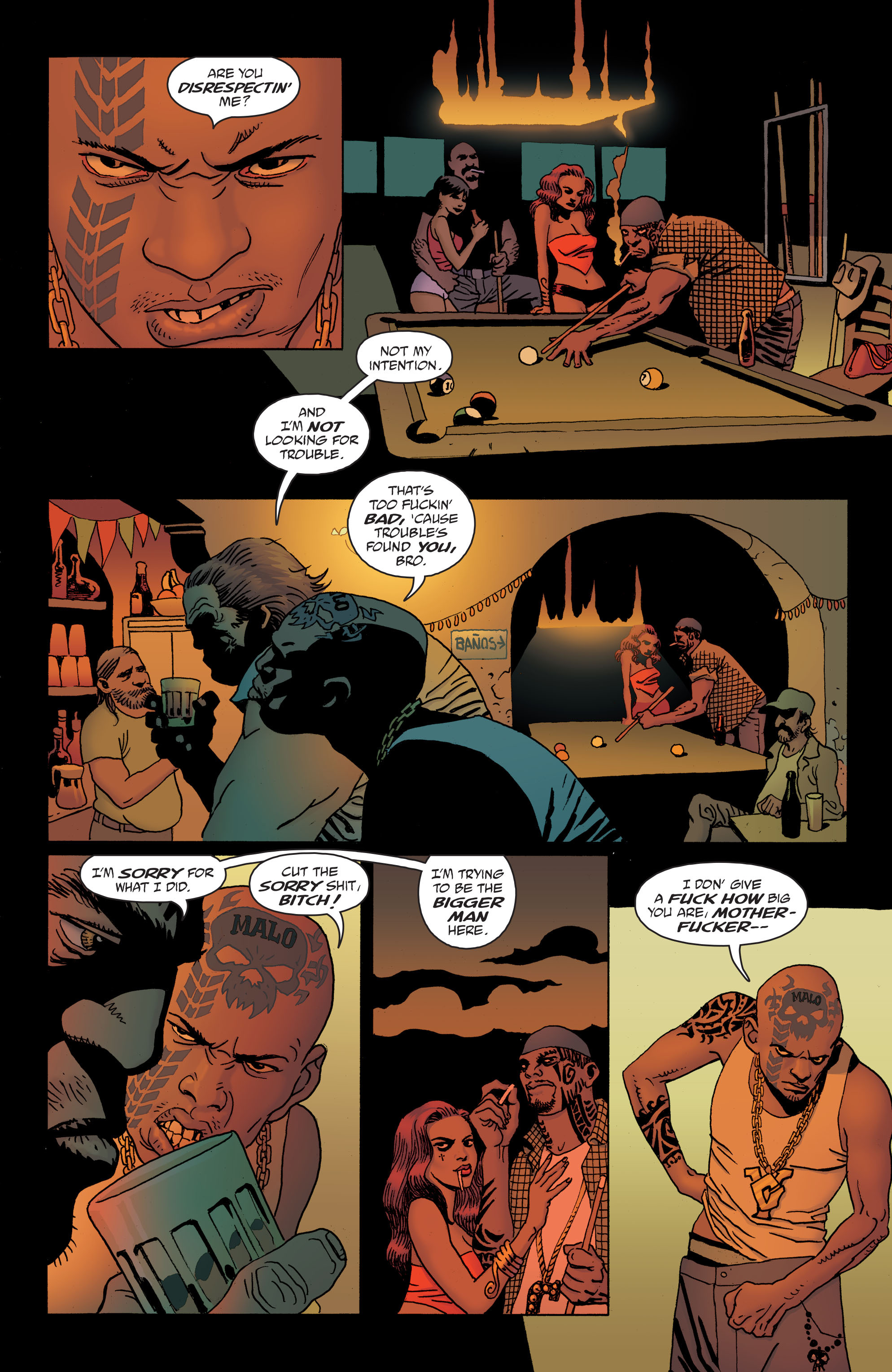 100 Bullets: Brother Lono Full Page 50