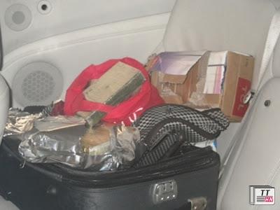 Ma túy được giấu trong một chiếc valy.