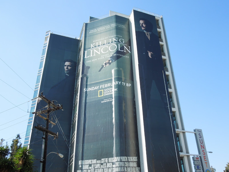 Giant Killing Lincoln National Geographic movie billboard