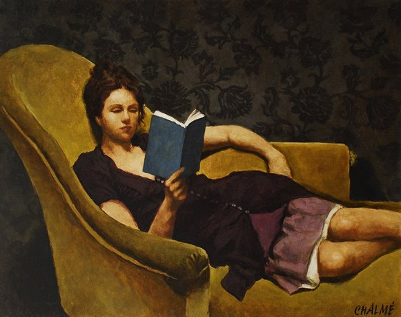 Marc Chalmé. Reading and Art