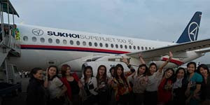 Video Pesawat Sukhoi Hilang di Gunung Salak Bogor