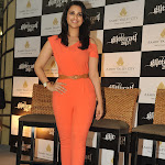 Parineeti Chopra Sexy In Orange Dress At 'Glitterati 2013' Press Meet