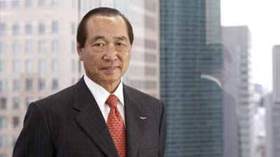 Hajime Satomi - Sammy Corporation dan Sega
