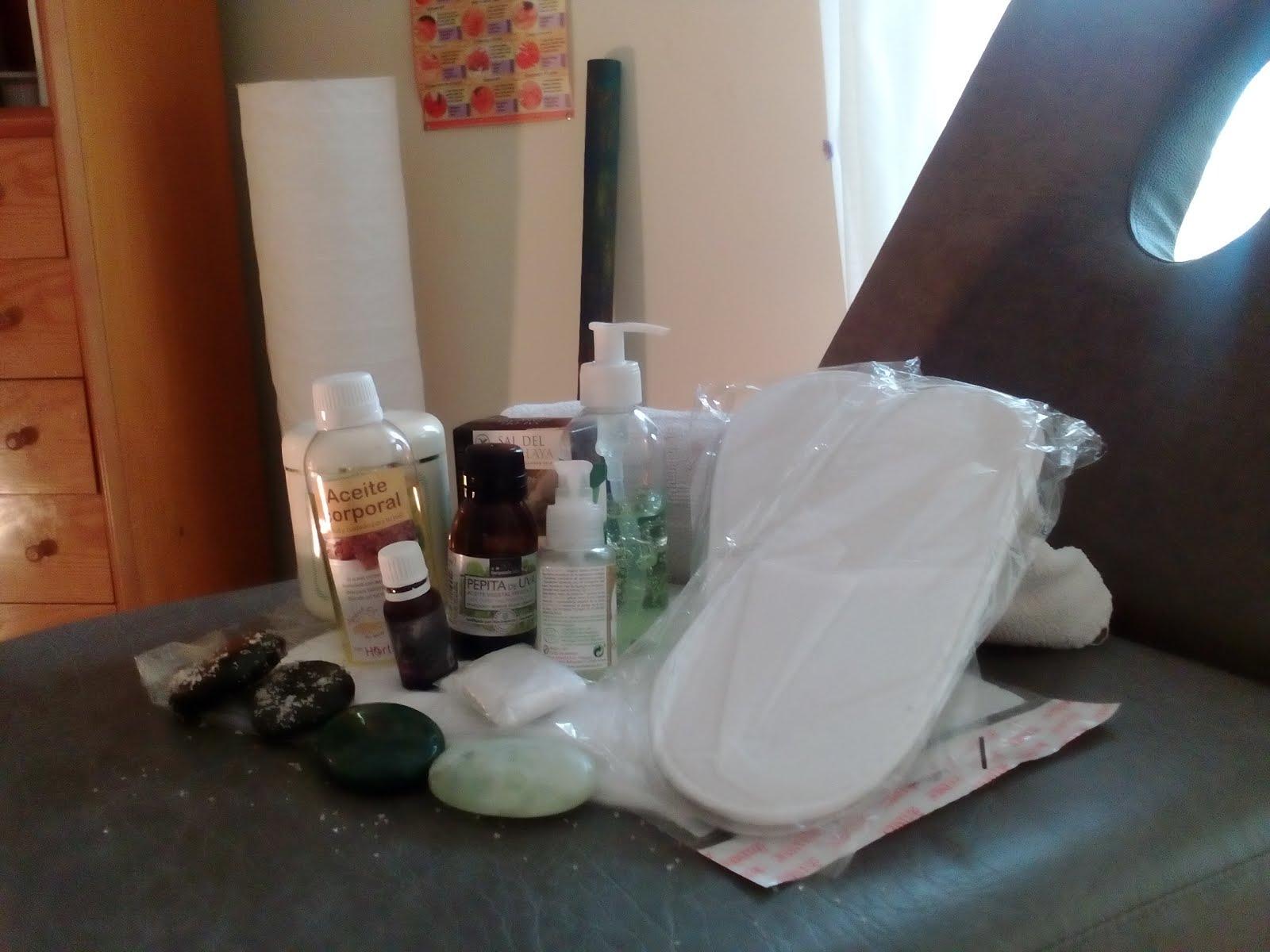 Ofrecemos productos de calidad para los tratamientos y masajes