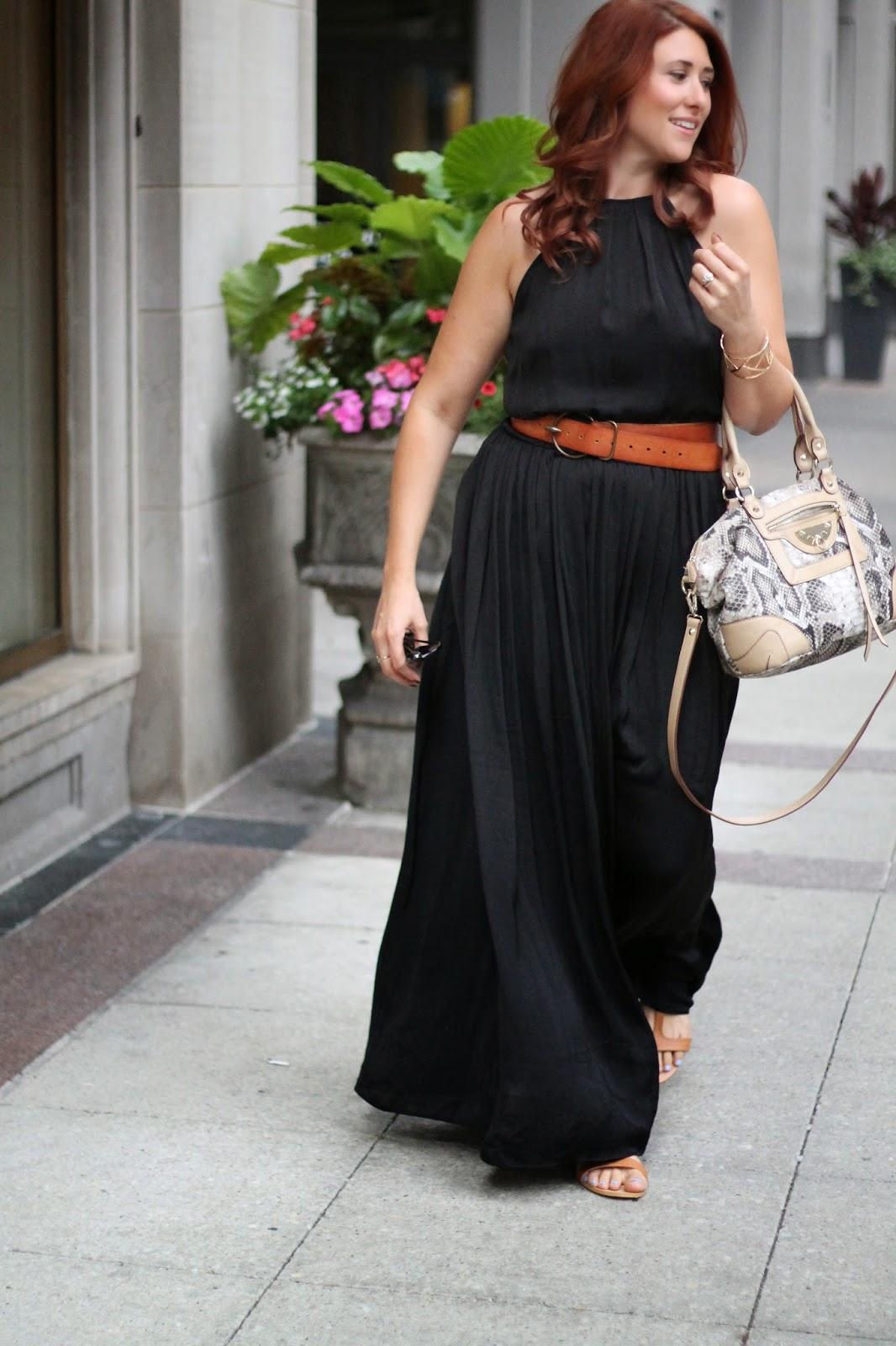 black, zara, maxi, dress