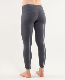 lululemon wunder under yoga pant heathered coal
