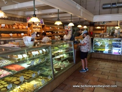 counter at Copenhagen Bakery & Cafe in Burlingame, California
