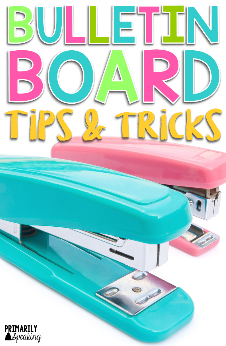 Bulletin Board Tips & Tricks