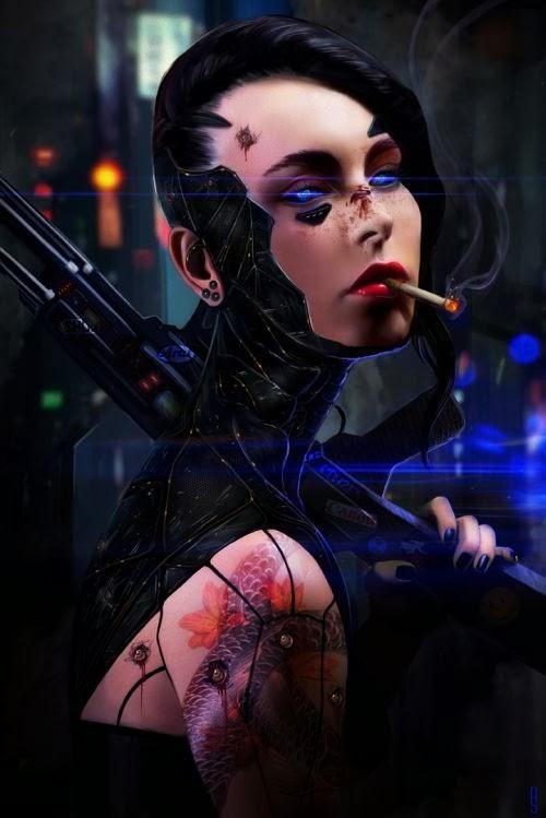 Rob Shields deviantart ilustrações fantasia ficção científica mulheres