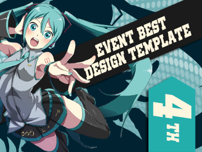 Event Best Design Template 4th