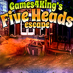 Games4King Five Heads Esc…
