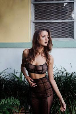 Alyssa Arce sexy lingerie Yume Magazine photoshoot