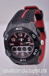 jam Lasebo Double Time , tampil Sporty