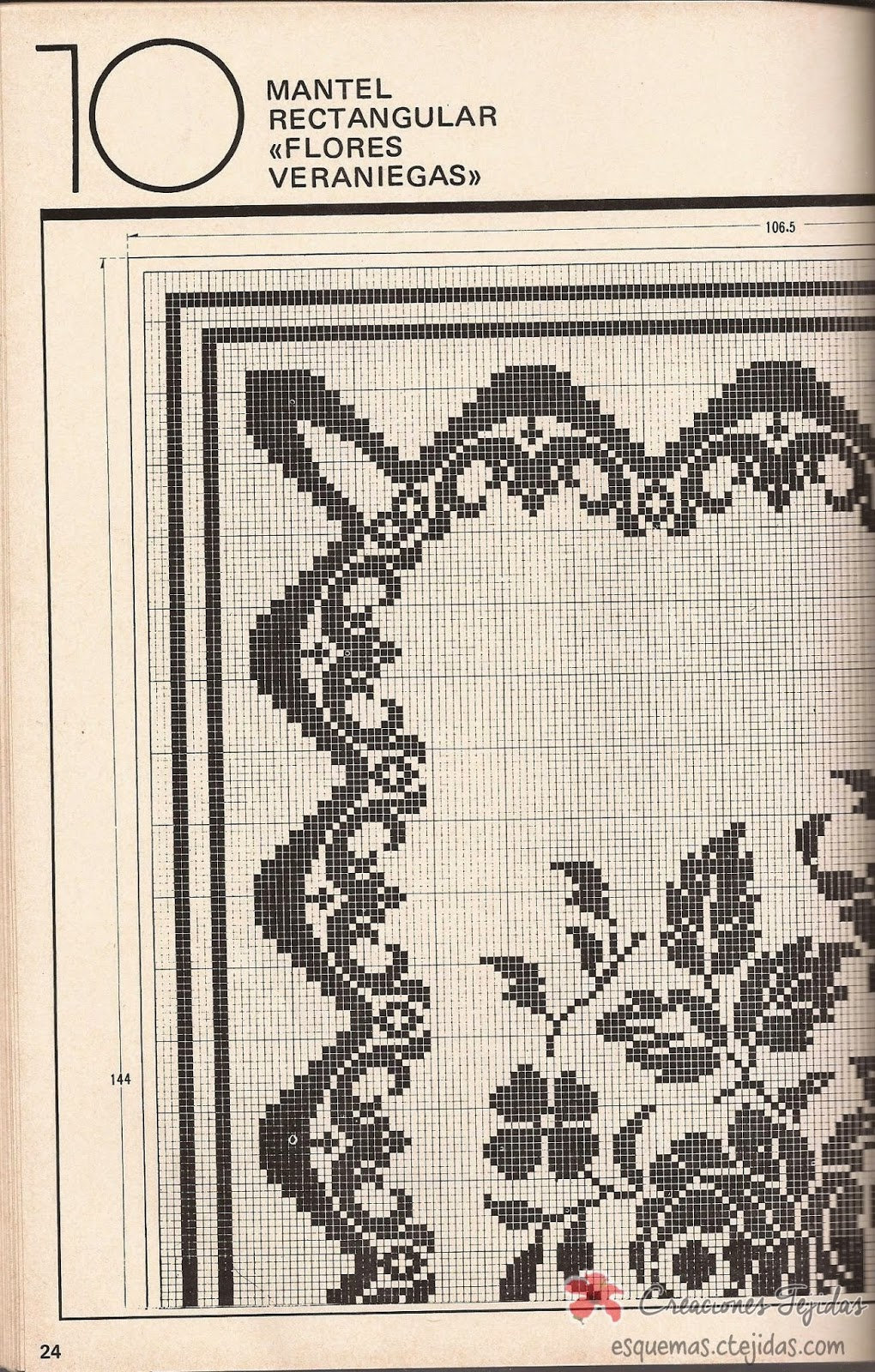 Mantel a Crochet