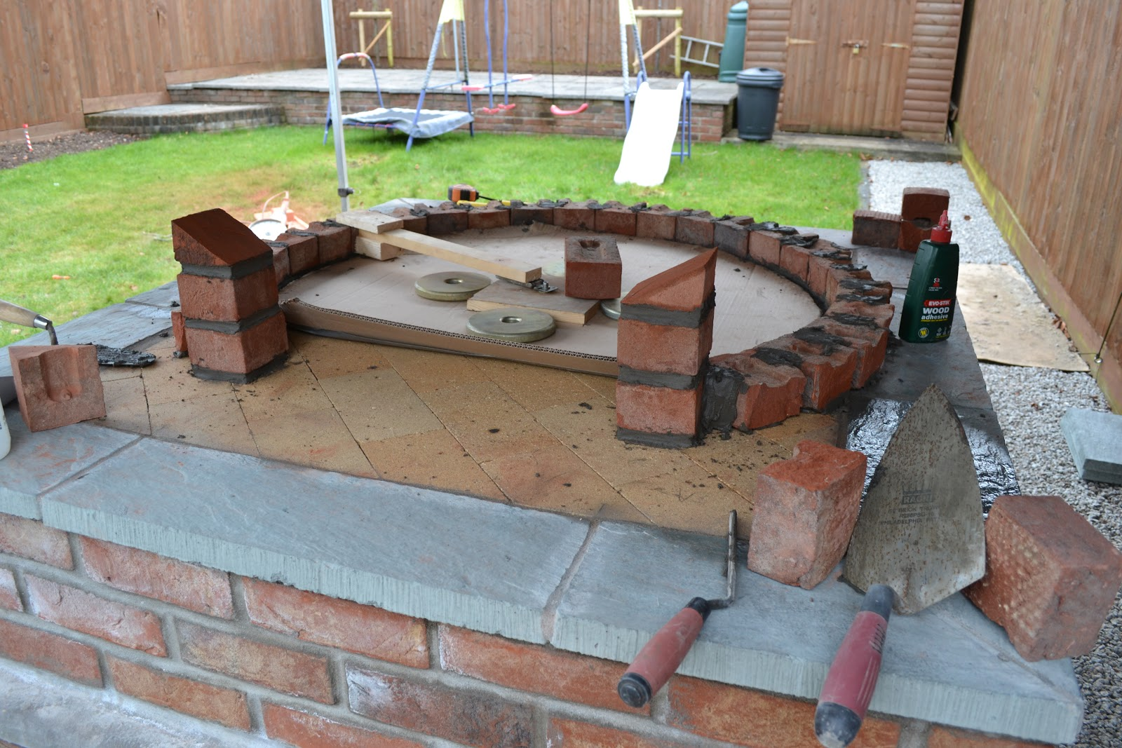 how to build a brick pizza oven pdf