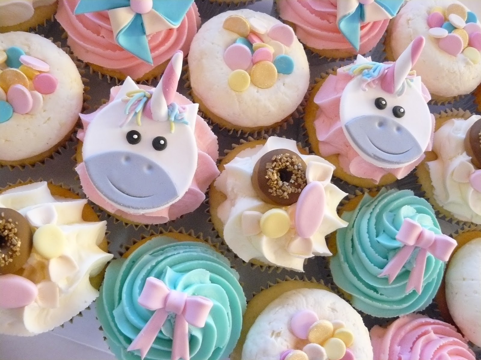 The Cup Cake Taste - Brisbane Cupcakes: Unicorn Cupcakes