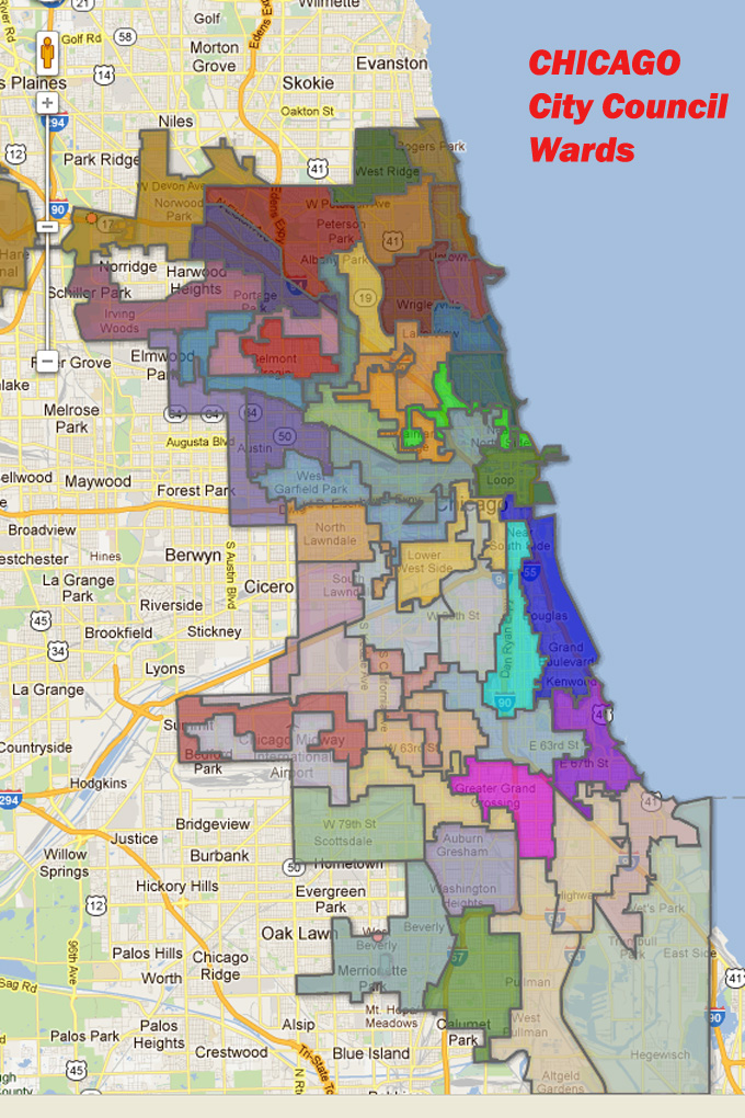 Mapping For Justice Interactive Map Of Chicago Wards