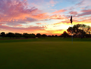 Sunrise on the 10th at PDS