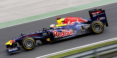 Red Bull in the 2011 Italian Grand Prix