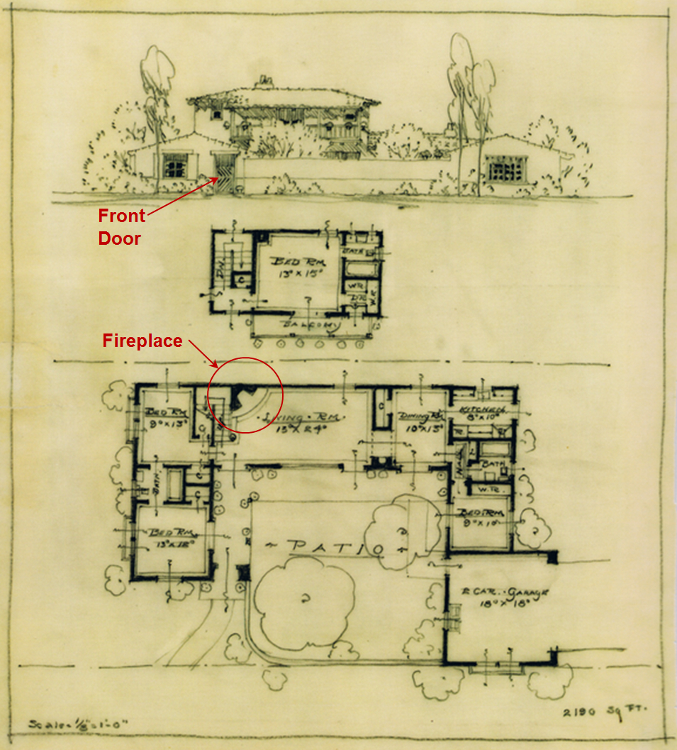 Discovering An 39 Unknown 39 Cliff May Home In San Diego: cliff may house plans
