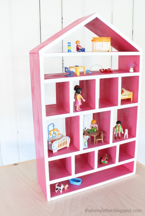 That 39 S My Letter D Is For Dollhouse Shelf