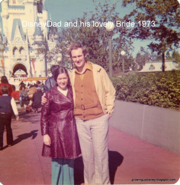 Disney honeymoon, vintage disney photos, growing up disney