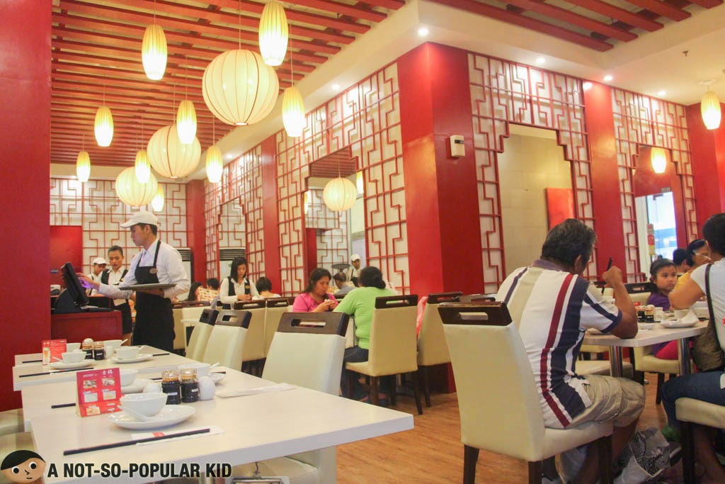 Shi Lin's interior in Lucky Chinatown Mall
