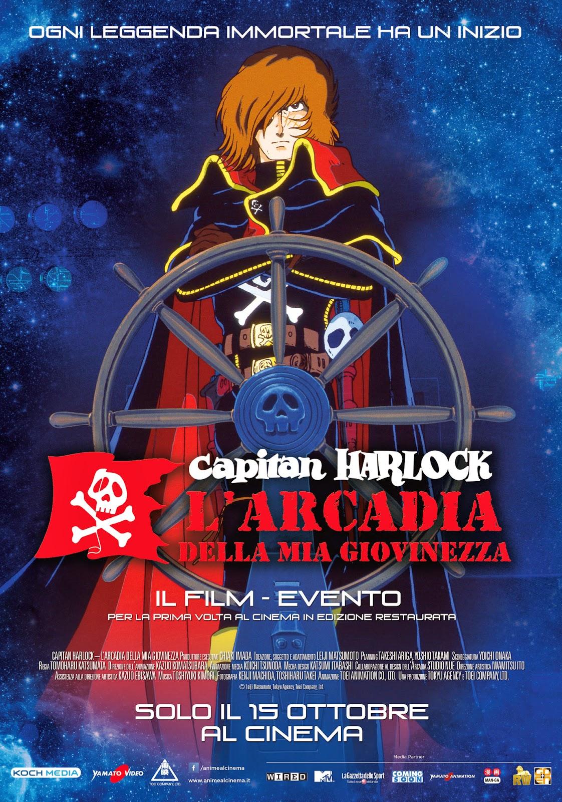 CAPITAN HARLOCK AL CINEMA IN ITALIANO, DATE, TRAILER E TRAMA - LOcandina