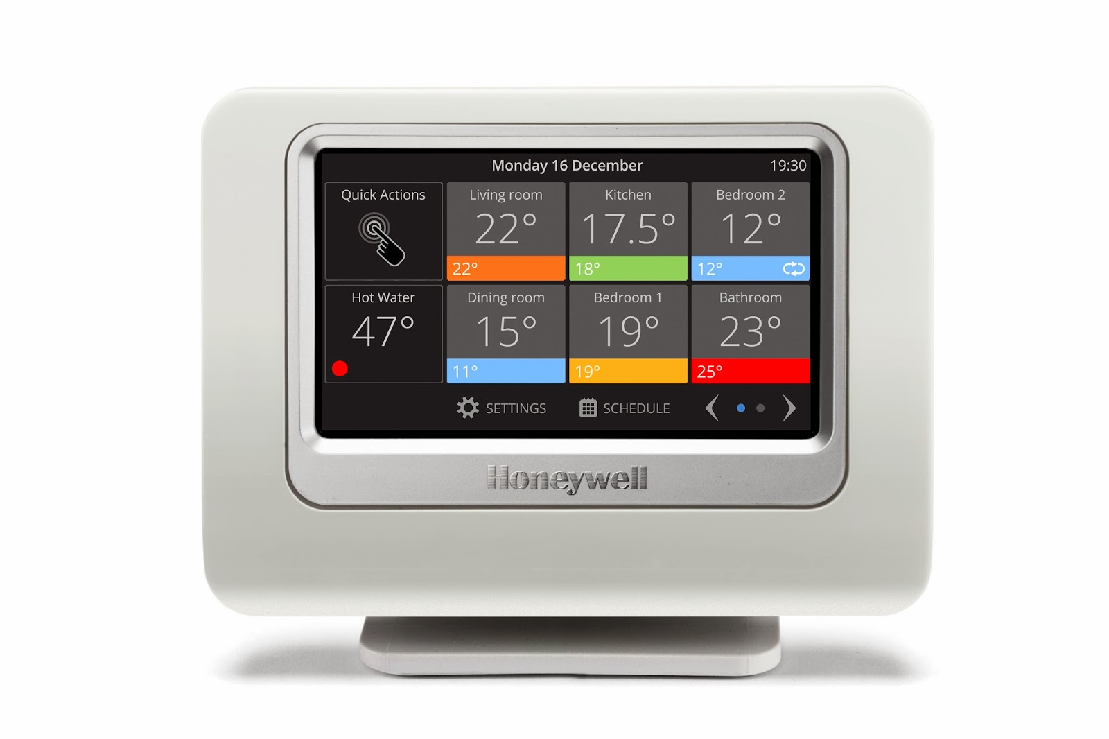 #CA8901 Find Your Comfort Zone With The New Evohome From Honeywell Most Effective 7425 Wireless Damper Hvac System pictures with 1600x1066 px on helpvideos.info - Air Conditioners, Air Coolers and more