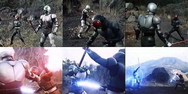 Shadow Moon VS Kamen Rider RX