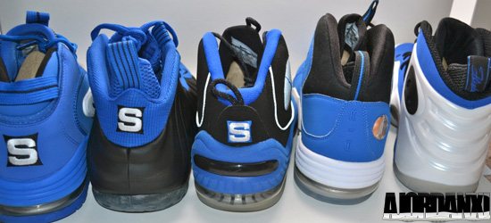 This 5-shoe pack pays homage to Penny Hardaway. Created by Nike Sportswear  in collaboration with Sole Collector. Only 25 pairs were made and released.