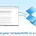Dropbox-ի նոր տարբերակում ավելացել է էկրանի լուսանկարն ակնթարթորեն տարածելու ֆունկցիա