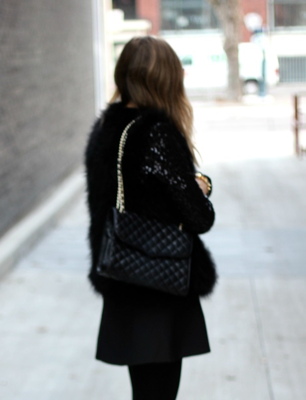 sequin black jacket