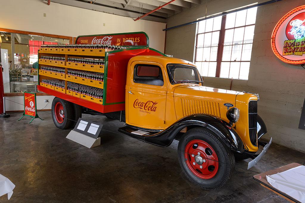 1936 Ford Model 68 Coca-Cola truck