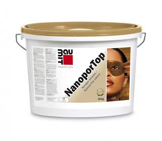 Tencuiala Decorativa Exterior Pret, Vopsea Decorativa Exterior Pret, NanoporTop Baumit, Tencuiala Decorativa Autocuratire