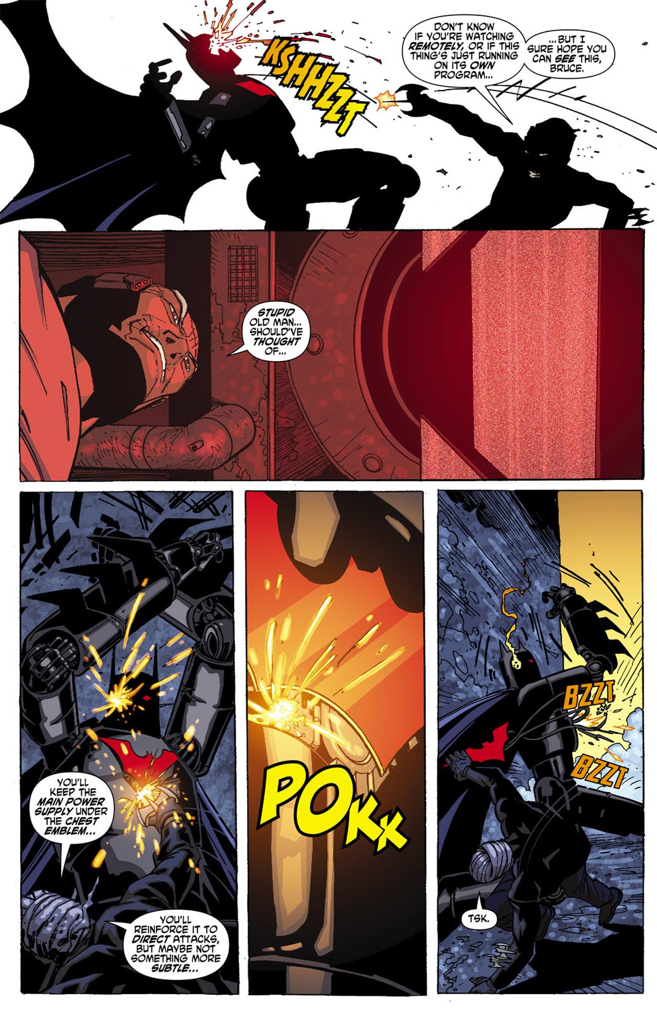 Batman Beyond (2010) Issue #4 #4 - English 13