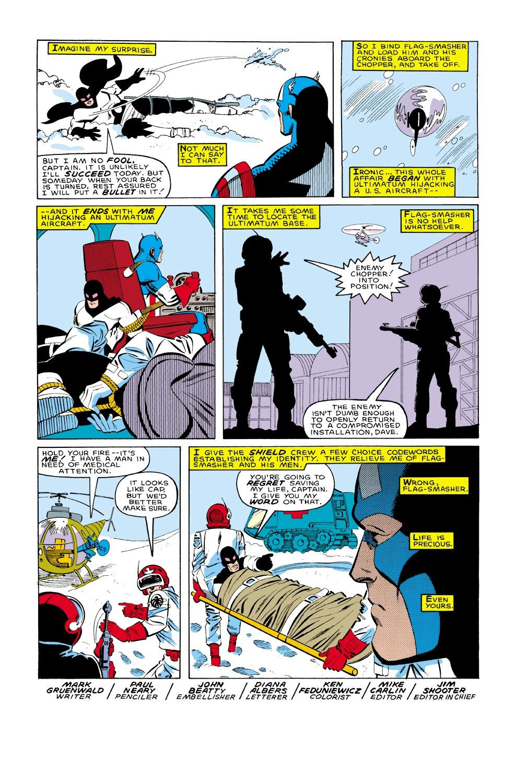 Captain America (1968) Issue #322 #250 - English 23